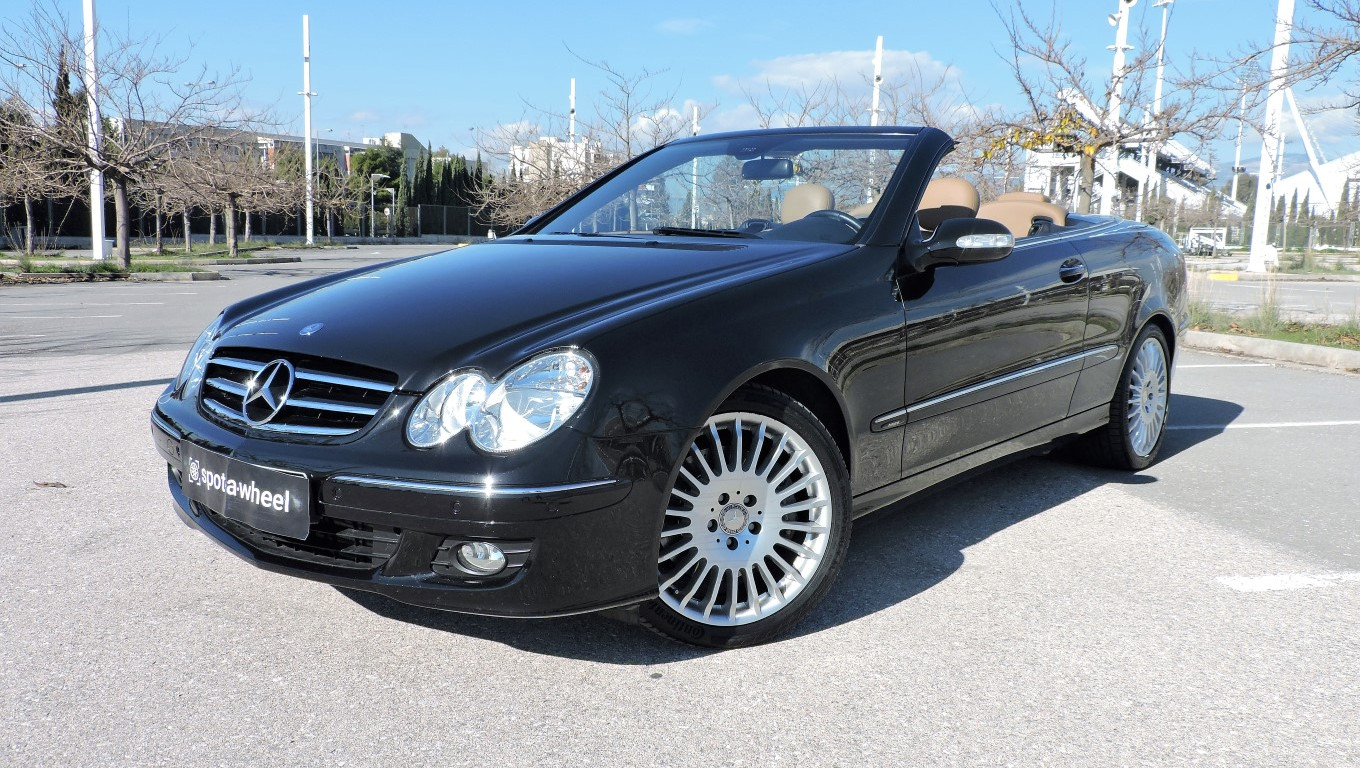 2008 mercedes benz clk 200 kompressor cabrio spotawheel. Black Bedroom Furniture Sets. Home Design Ideas