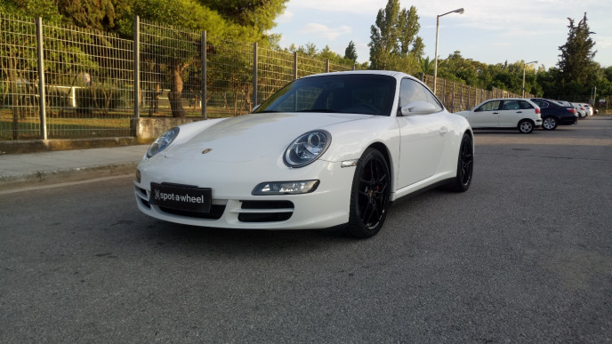 2008 Porsche 911 - front-left exterior