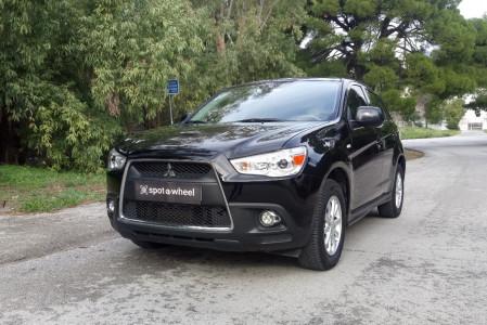 2013 Mitsubishi Asx - front-left exterior