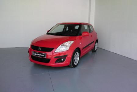2011 Suzuki Swift - front-left exterior