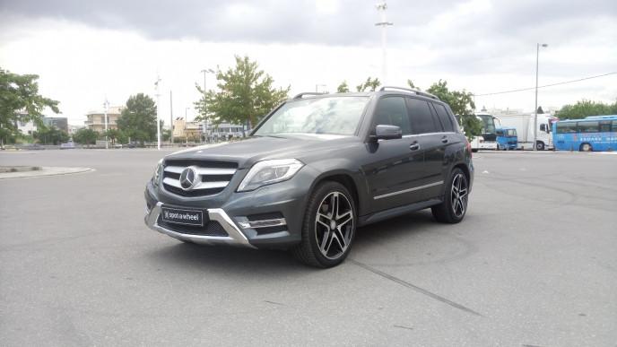 2013 Mercedes-Benz GLK 350 - front-left exterior