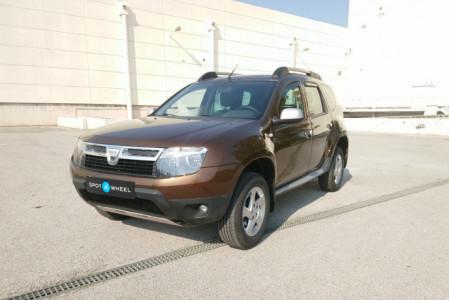 2011 Dacia Duster - front-left exterior