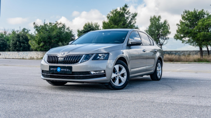 2019 Skoda Octavia - front-left exterior