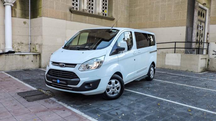 2016 Ford Tourneo Custom - front-left exterior