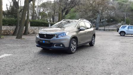 2017 Peugeot 2008 - front-left exterior