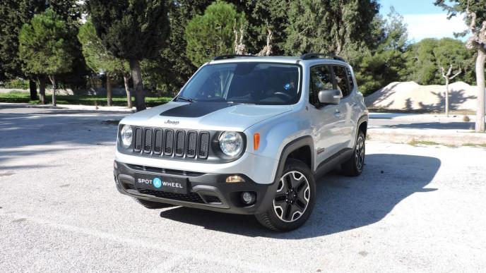 2016 Jeep Renegade - front-left exterior