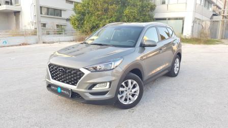 2019 Hyundai Tucson - front-left exterior