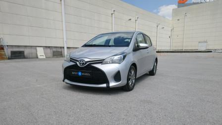 2015 Toyota Yaris - front-left exterior