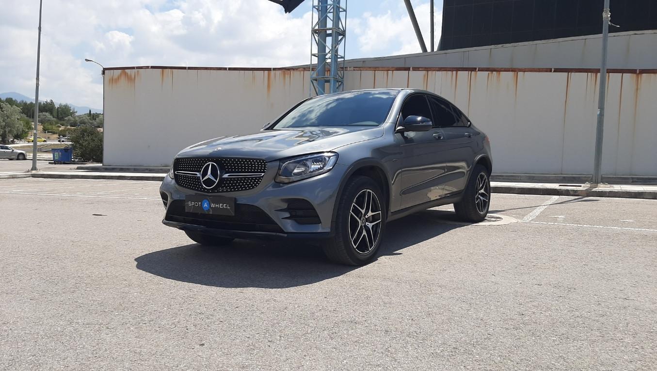 Mercedes-Benz GLC 350 e Coupe Hybrid 4MATIC του 2018