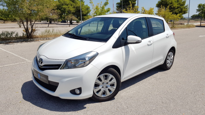 2014 Toyota Yaris - front-left exterior