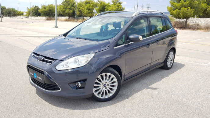 2014 Ford Grand C-Max - front-left exterior