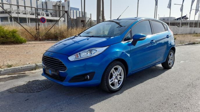 2013 Ford Fiesta - front-left exterior