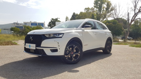 2019 DS DS 7 Crossback - front-left exterior