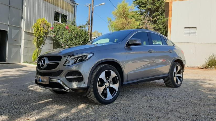 2016 Mercedes-Benz GLE 350 - front-left exterior