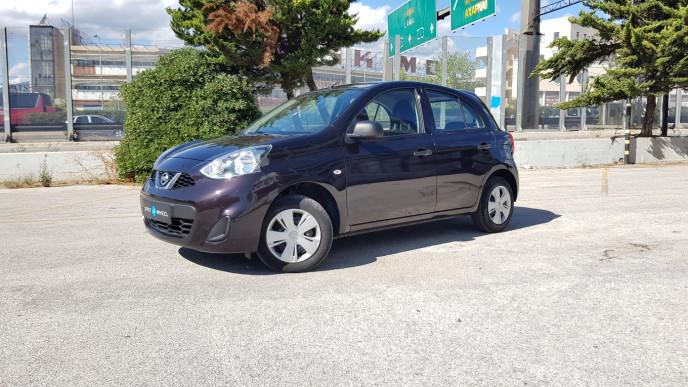 2014 Nissan Micra - front-left exterior