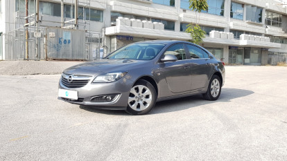 2016 Opel Insignia - front-left