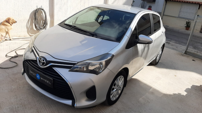 2015 Toyota Yaris - front-left exterior