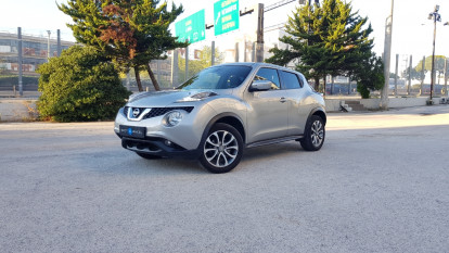 2015 Nissan Juke - front-left exterior