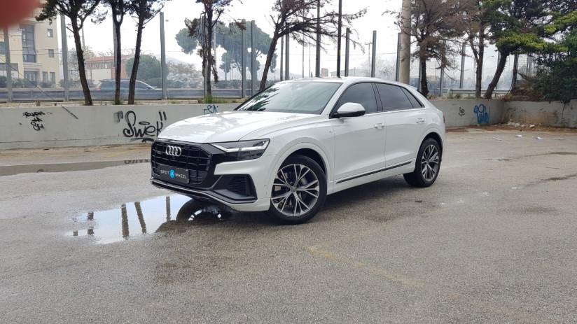 2020 Audi Q8 - front-left exterior