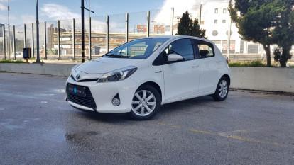 2013 Toyota Yaris - front-left exterior