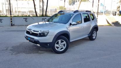 2013 Dacia Duster - front-left exterior