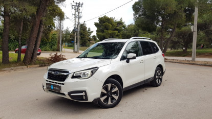 2018 Subaru Forester - front-left exterior