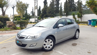 2011 Opel Astra - front-left exterior