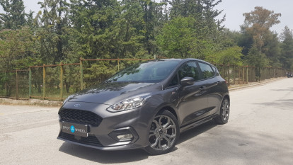 2018 Ford Fiesta - front-left