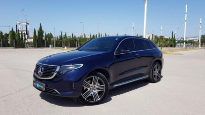 2020 Mercedes-Benz EQC - front-left exterior