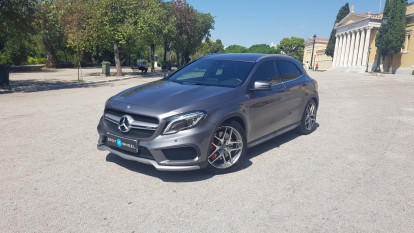 2016 Mercedes-Benz GLA 45AMG - front-left