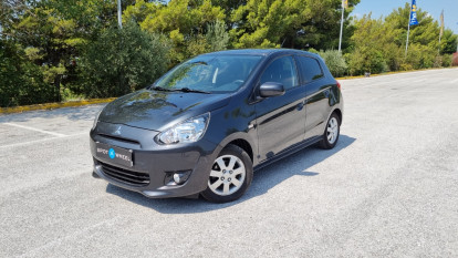2014 Mitsubishi Space Star - front-left
