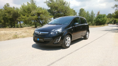 2014 Opel Corsa - front-left exterior