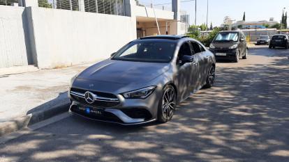 2019 Mercedes-Benz CLA 35 AMG - front-left