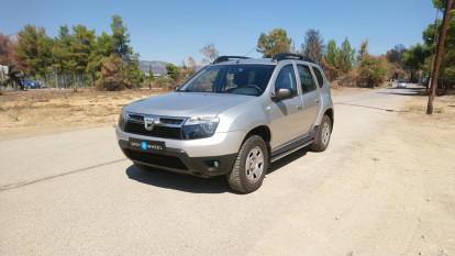 2010 Dacia Duster - front-left