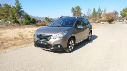 2014 Peugeot 2008 - front-left exterior