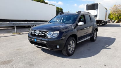 2015 Dacia Duster - front-left