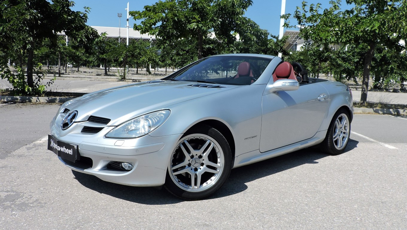 2006 mercedes benz slk 200 kompressor spotawheel. Black Bedroom Furniture Sets. Home Design Ideas